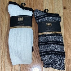 4pr FRYE Super Soft Boot Socks